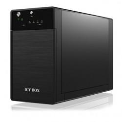 RAIDSONIC IC BOX Externý box pre 2x 3.5' HDD IB-3620U3