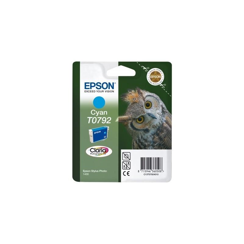 Epson atrament SP PX660/PX820/1400/1500W cyan C13T07924010