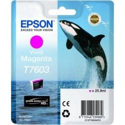 Epson atrament SC-P600 vivid magenta C13T76034010
