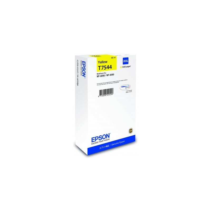 Epson atrament WF-8090/WF-8590 yellow XXL C13T754440