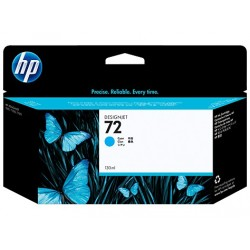 HP 72 130 ml Cyan Ink Cartridge with Vivera Ink C9371A