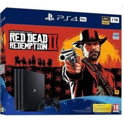 Sony Playstation 4 1TB + Red Dead Redemption2 PS719760511
