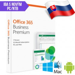 MS Office 365 Bussines Premium SK 1rok ML SN(2019) KLQ-00403