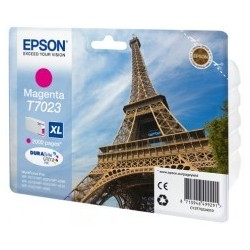 Epson atrament WP4000/4500 series magenta XL C13T70234010
