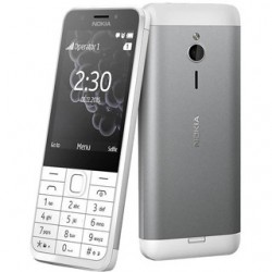 Nokia 230 Dual Light Silver A00026951
