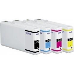 Epson atrament WP4000/4500 series cyan XXL C13T70124010
