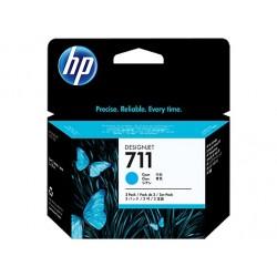 HP náplň č. 711 azúrová, 29 ml - 3 ks v balení CZ134A