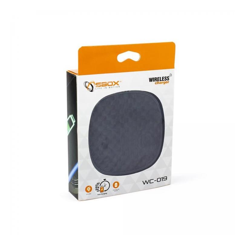 SBOX Bezdrôtová (Qi) nabíjačka WC-019