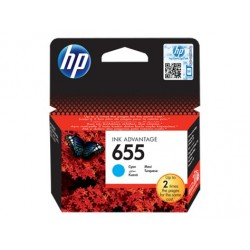 HP náplň c. 655 azúrová CZ110AE