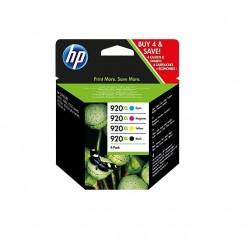 HP 920XL CMYK Ink Cartridge Combo Pack C2N92AE
