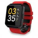 MAXCOM SmatWatch FitGo FW15 SQUARE red/blk FW15 RED/BLA