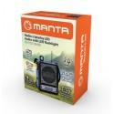 MANTA Rádio s baterkou MP3 FM RDI102