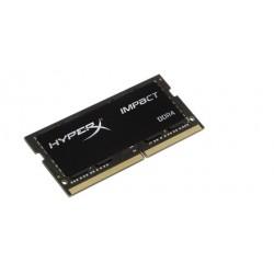DDR 4 8 GB 2666MHz SODIMM CL15 Kingston HyperX Impact Black Series...