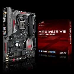 ASUS MAXIMUS VIII HERO ALPHA soc.1151 Z170 DDR4 ATX 3xPCIe USB3.1 RAID GL iG BT HDMI DP 90MB0P50-M0EAY0