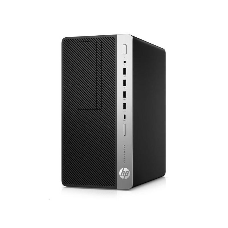 HP EliteDesk 705 G4 MT, AMD Ryzen 5 Pro 2400G, RX 580/4GB, 8GB, 256GB SSD, DVDRW, W10Pro, 3y 4HN21EA#BCM