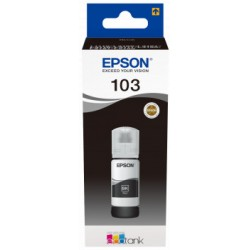 Epson atrament L3xxx Black ink container 65ml - 4500str. C13T00S14A
