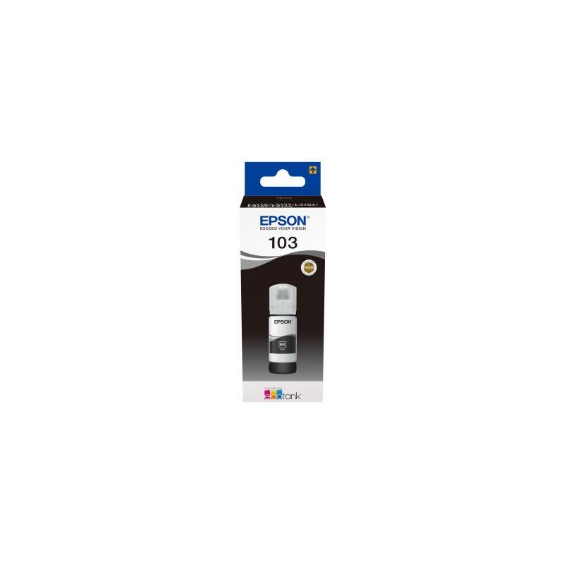 Epson atrament L3xxx Black ink container 65ml - 4500str. C13T00S14A