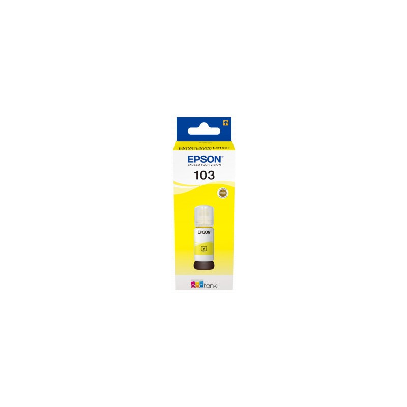 Epson atrament L3xxx Yellow ink container 65ml - 7500str. C13T00S44A