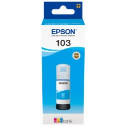 Epson atrament L3xxx Cyan ink container 65ml - 7500str. C13T00S24A