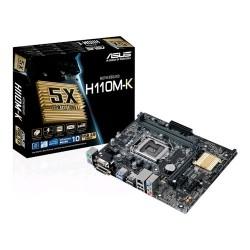 ASUS H110M-K soc.1151 H110 DDR4 mATX 1xPCIe USB3 GL iG D-Sub DVI 90MB0PH0-M0EAY0