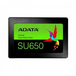 "ADATA 120GB SSD SU650 Series SATA 3  6Gb/s, 2.5"" Box ASU650SS-120GT-R"