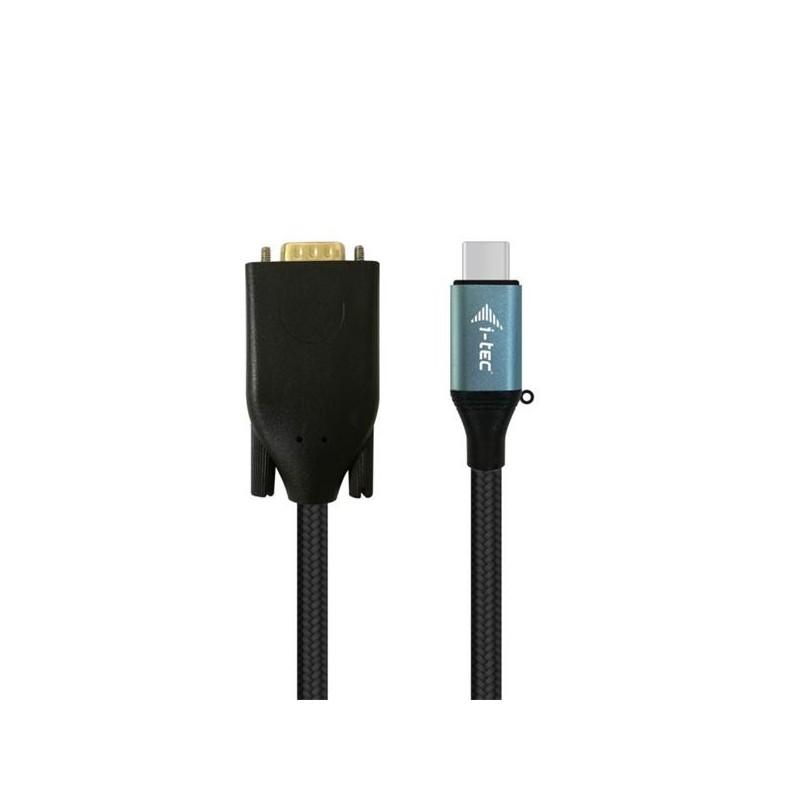 i-tec USB-C VGA Cable Adapter 1080p / 60 Hz 150cm C31CBLVGA60HZ