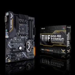 ASUS TUF B450-PRO GAMING soc.AM4 B450 DDR4 ATX M.2 USB-C DVI HDMI...