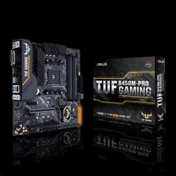 ASUS TUF B450M-PRO GAMING soc.AM4 B450 DDR4 mATX M.2 USB-C DVI HDMI...