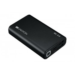 Canyon CND-TPBQC10B Powerbank 10.000 mAh, Polymér, Quick Charge 3.0 a Power Delivery tech., 3 x rýchl. nabíjanie, čiern