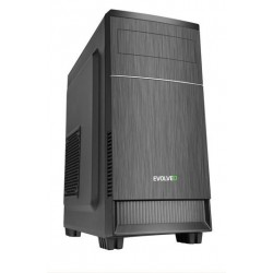 EVOLVEO M1, case mATX, 2x USB2.0 / 1x USB3.0 / 2x 120mm LED / 1x 140mm/ černý CAEMQ0100