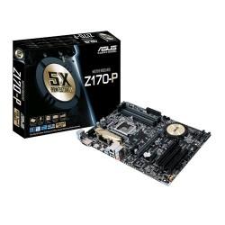 ASUS Z170-P soc.1151 Z170 DDR4 ATX 2xPCIe USB3 RAID GL iG DVI HDMI 90MB0NR0-M0EAY0