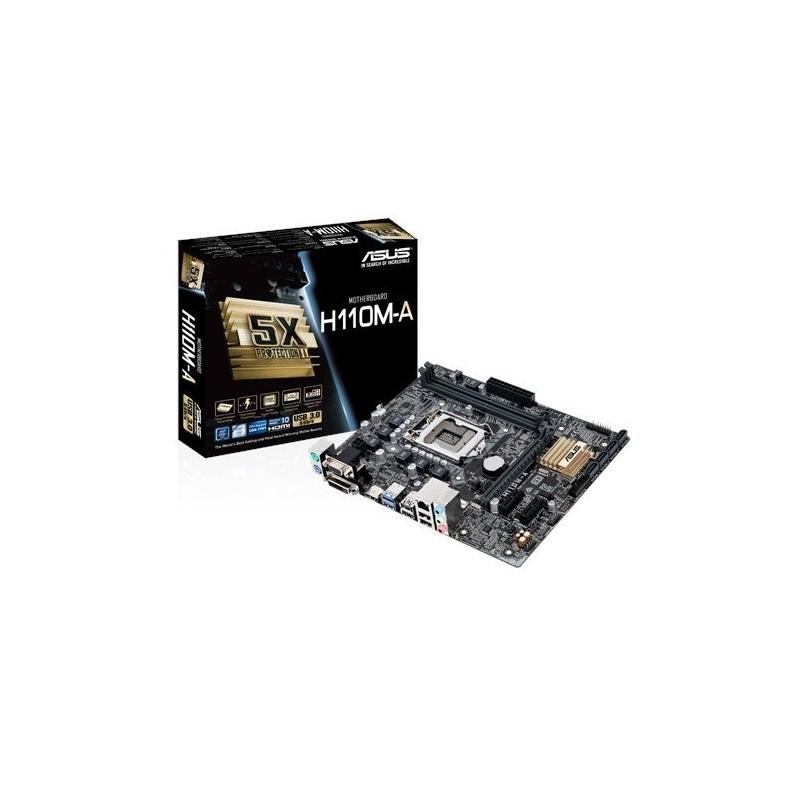 ASUS H110M-A/M.2 soc.1151 H110 DDR4 mATX 1xPCIe USB3 GL iG D-Sub DVI HDMI 90MB0R60-M0EAY0