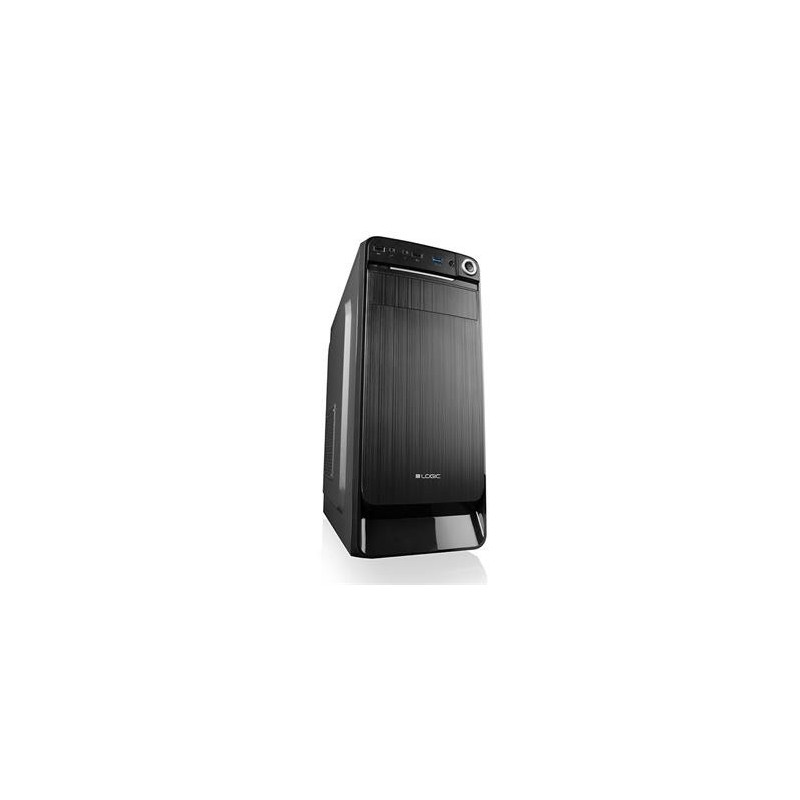 Modecom PC skříň LOGIC K3 MIDI, 1x USB 3.0, 2x USB 2.0 + audio HD, černá, bez zdroje AT-K003-10-0000000-0002