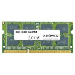 2-Power 8GB PC3-10600S 1333MHz DDR3 CL9 SoDIMM 2Rx8 (DOŽIVOTNÍ ZÁRUKA) MEM5105A