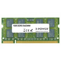 2-Power 1GB MultiSpeed 533/667/800 MHz DDR2 SoDIMM 1Rx8 (DOŽIVOTNÍ ZÁRUKA) MEM0701A
