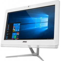 "MSI AIO Pro 20EXTS 7M-043XEU dotykový/i3-7100 Kabylake/4GB/128GB SSD/DVD/RW/HD Graphics 630/19,5"" HD/white/bez OS"