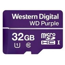 Western Digital PURPLE microSDHC CARD WDD032G1P0A 32GB Class 10 (R80 / W50 MB/s)