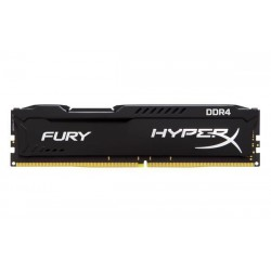 DDR 4 4GB 2400MHz CL15 HyperX FURY Black Kingston HX424C15FB/4