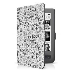 CONNECT IT Doodle pouzdro pro PocketBook 624/626, bílé CEB-1069-WH