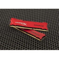 DDR 3 8GB 1866MHz CL9 HyperX Savage Kingston (2x4GB) HX318C9SRK2/8