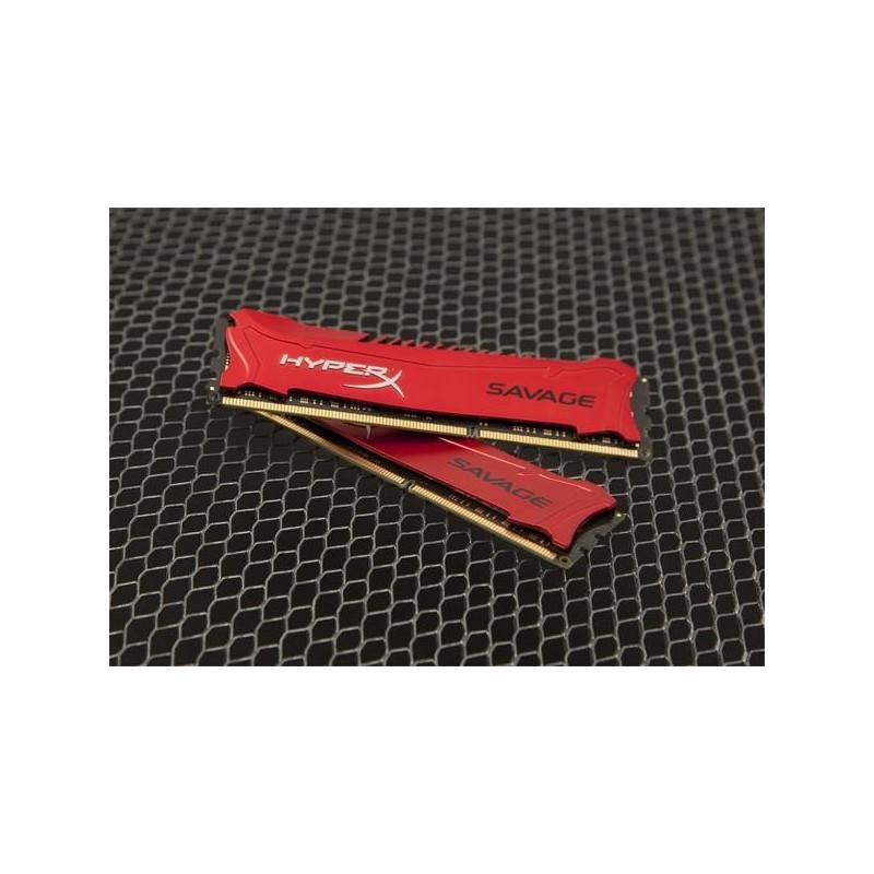 DDR 3 8GB 1866MHz CL9 HyperX Savage Kingston (2x4GB) HX318C9SRK2/8