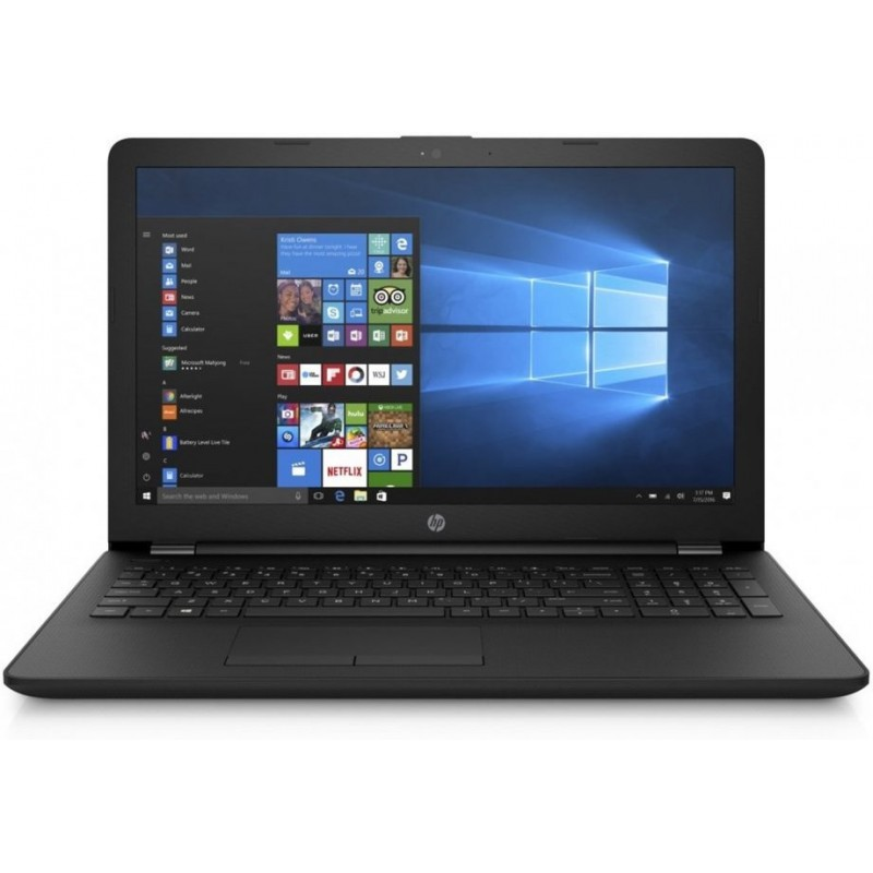 HP 15-rb014nc, E2-9000e, 15.6 HD, AMD Graphics, 4GB, 500GB, DVD-RW, W10, 2y, Jet Black 3LE99EA#BCM
