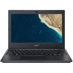 "Acer TravelMate B118-M-P01B Pentium N5000/4GB+N/64 GB eMMC+N/A/HD Graphics/11.6"" HD matný/BT/W10 Pro/Black NX.VHSEC.001"
