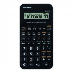 Sharp Kalkulačka EL501XWH, čierno-biela, vedecká SH-EL501XWH