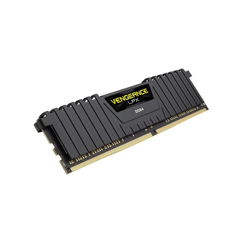 Corsair Vengeance LPX 16GB (Kit 2x8GB) 2400MHz DDR4 CL14 DIMM 12V XMP 20,čierny CMK16GX4M2A2400C14