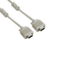 4World Kabel pro VGA/SVGA D-Sub15 M/M 5m, ferritový filter 04686