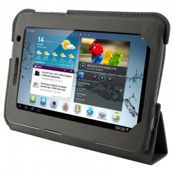 4World Puzdro - stojan pre Galaxy Tab 2, 4-Fold Slim, 7', šedá 09122