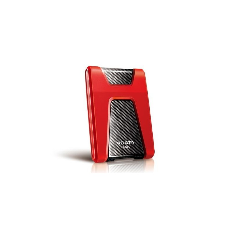 ADATA HD650 DashDrive™ Durable 1TB ext. HDD, USB3.0, shock proof, červený AHD650-1TU31-CRD