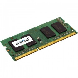 2GB DDR3 1600 MT/s (PC3-12800) CL11 SODIMM Unbuffered 204pin Crucial CT25664BF160BJ