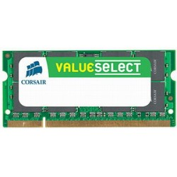 Corsair 2GB 667MHz DDR2 CL5 SODIMM (pre NTB) VS2GSDS667D2